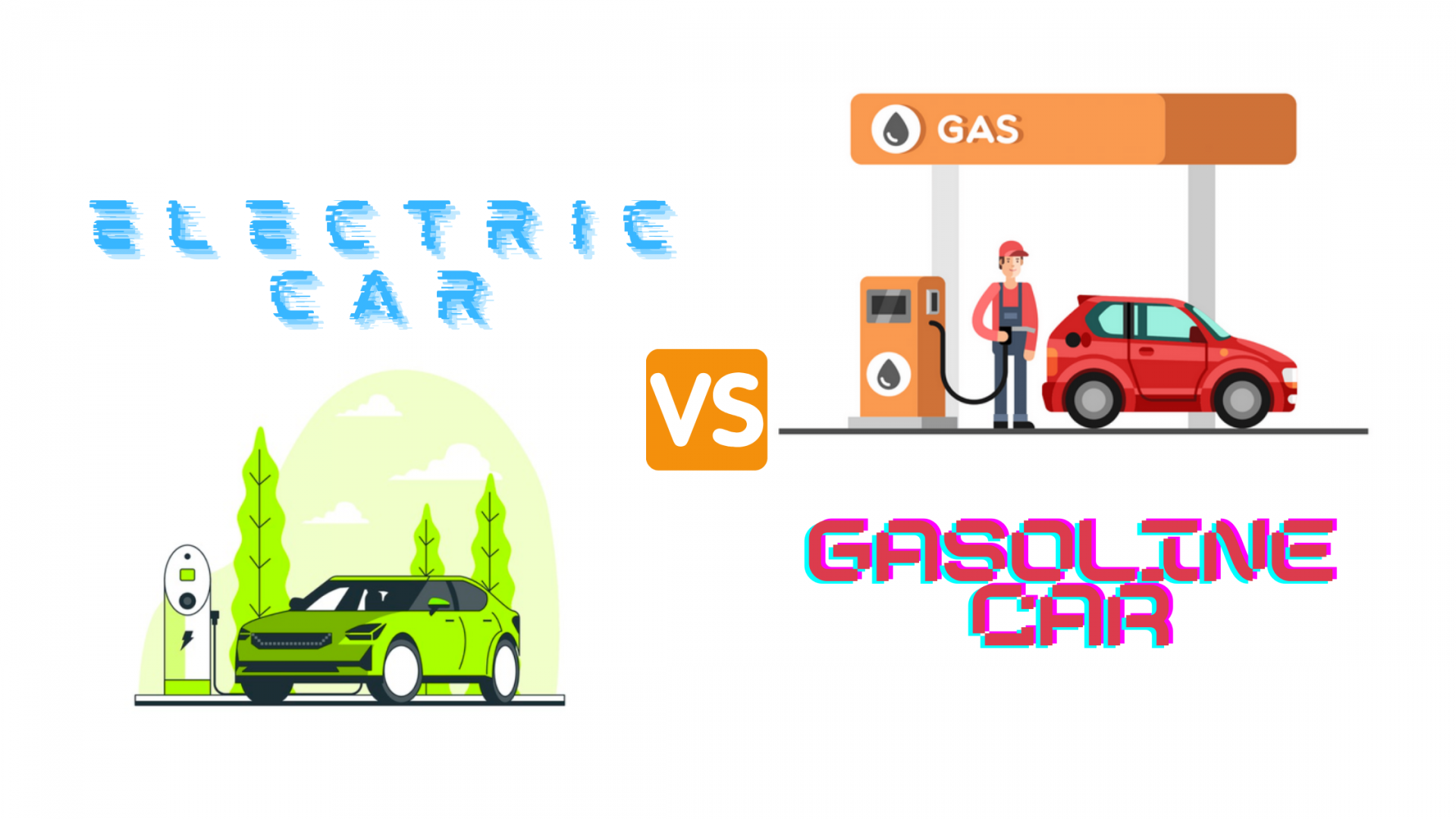Electric Cars vs Gas Cars