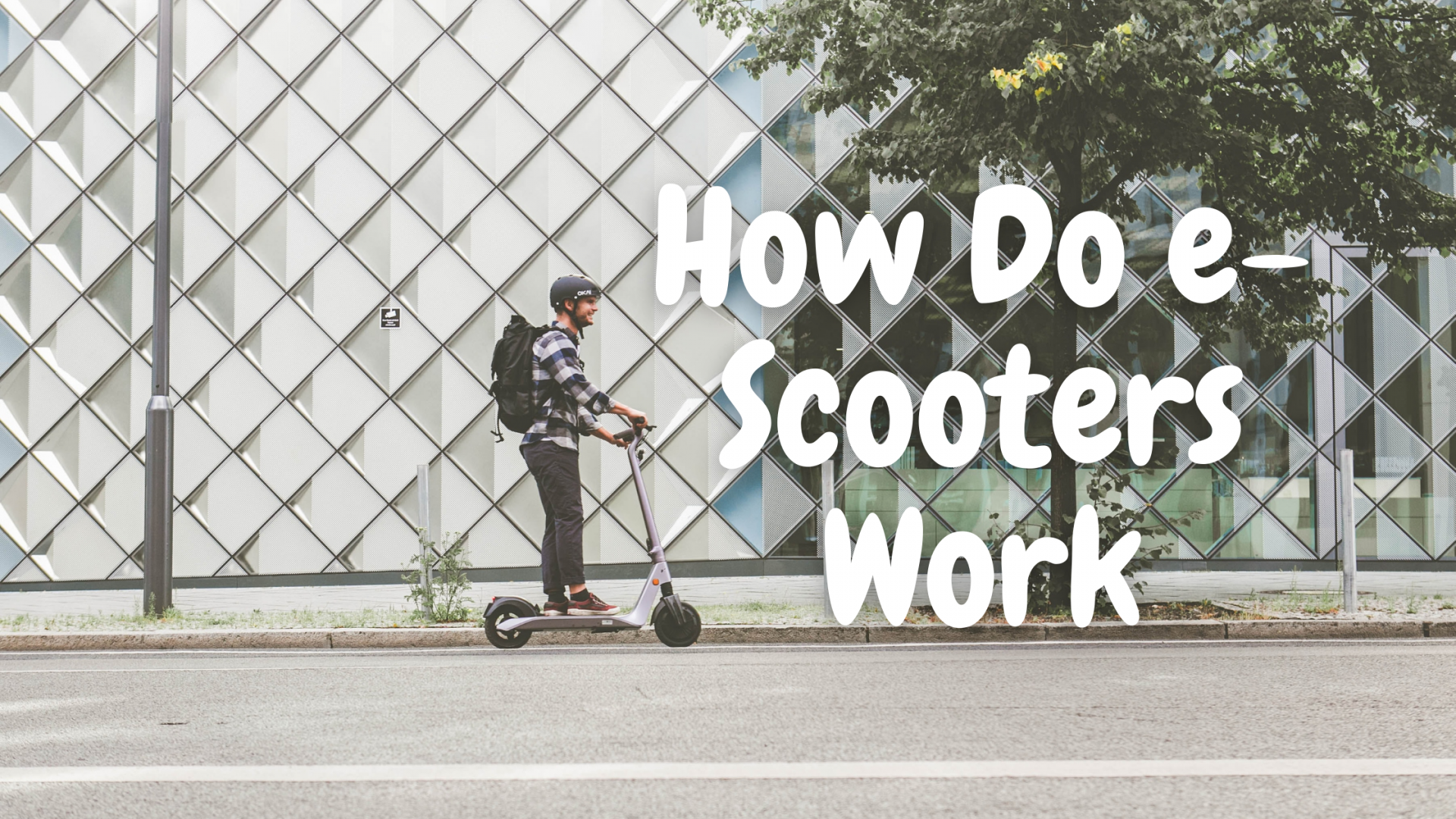 How do e-Scooters work