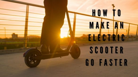 How to Make an Electric Scooter go Faster