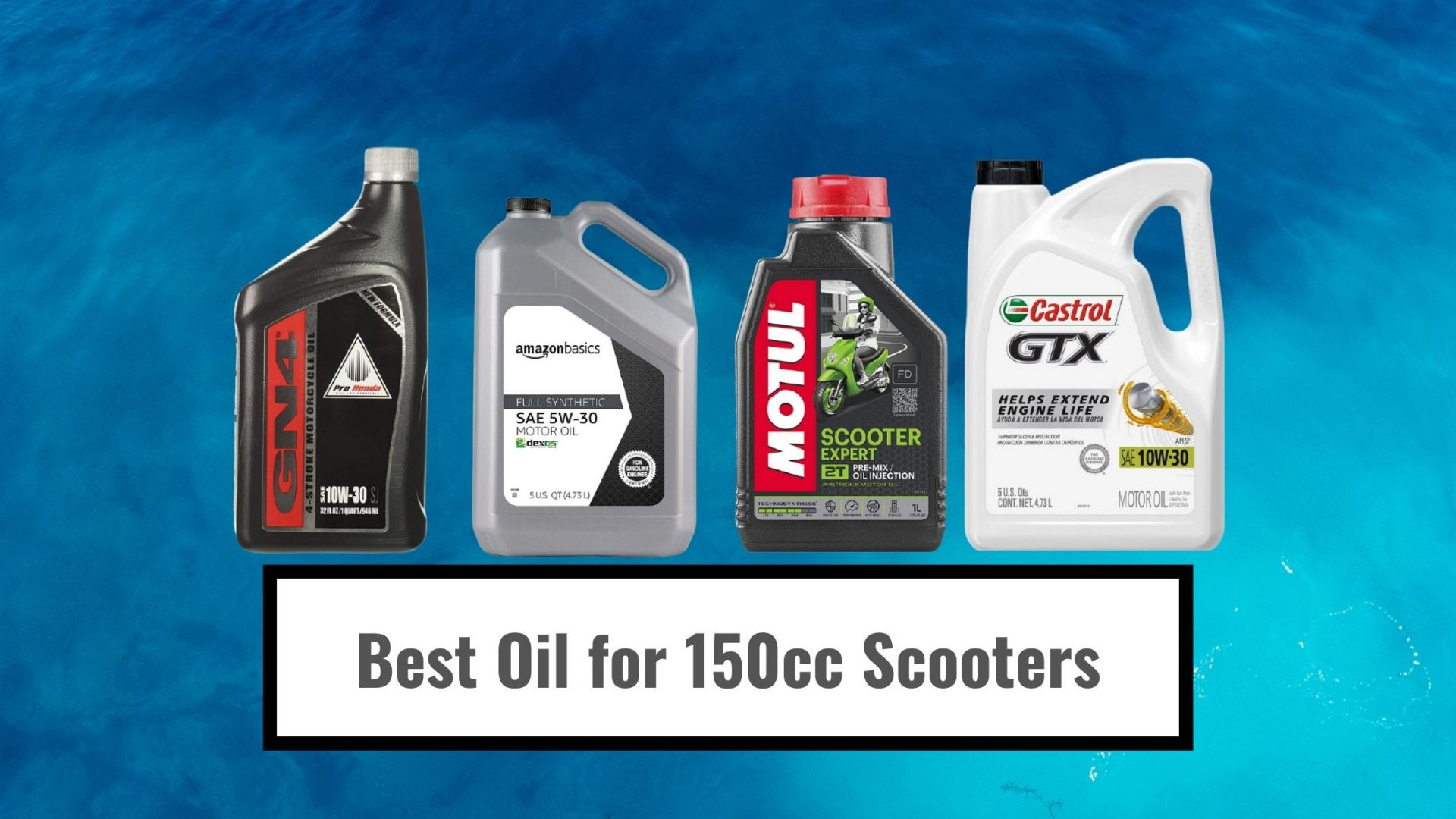 Best Oil for 150cc Scooters